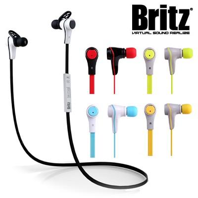 브리츠 스포츠형 무선 블루투스 이어폰 BE-M16 (통화+음악 / 고성능 마이크 / 멀티페어링 / 케이블 리모컨 / 핸즈프리 / 마이크로 5핀 충전)