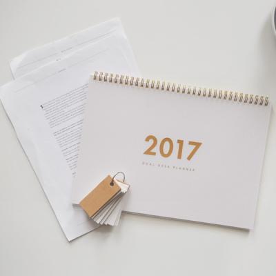 2017 Dual Planner