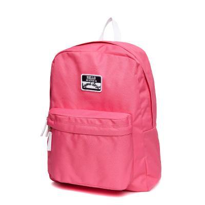 [비욘드클로젯X매니퀸] 네임택 로고 백팩 - 핑크