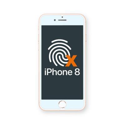 아이폰8 저반사 지문방지 보호필름 BLACK LABEL