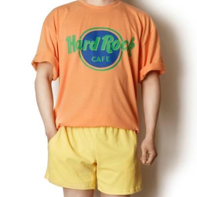 커플 시밀러룩 여름 데일리 반팔 티셔츠 컬러 밀러