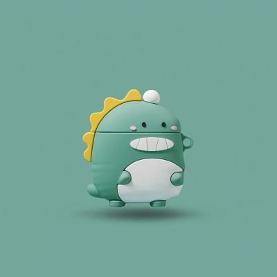 에어팟 1 2세대 공룡 캐릭터 실리콘케이스 278_1 그린