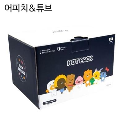 카카오 리틀프렌즈 핫팩 세트 20개입 어피치n튜브