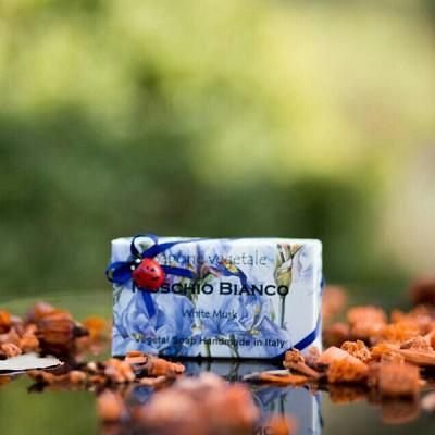 알키미아 천연수제비누 - 화이트머스크(WHITEMUSK) 부드럽고 산뜻한 향 무당벌레비누