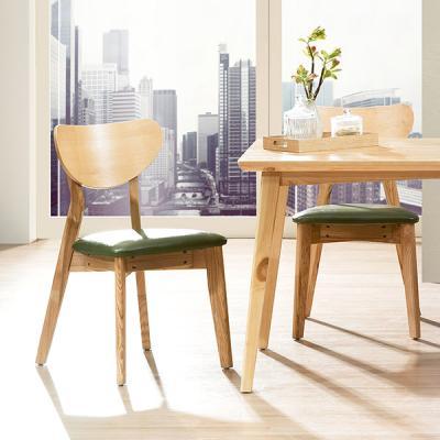 [에인하우스] 테도스 원목 식탁 의자