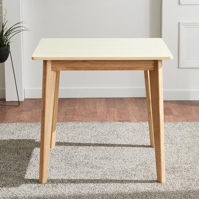 유럽형 고무나무 2인식탁 테이블 FN701-1