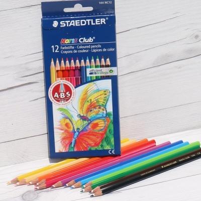 12색 색연필..스테들러 Noris Club 144 NC12