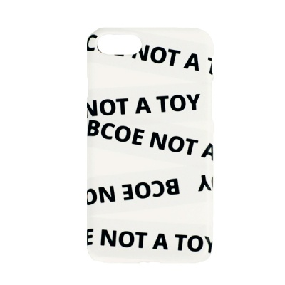 TAPING PHONE CASE white 후원 폰케이스 비코 BCOE