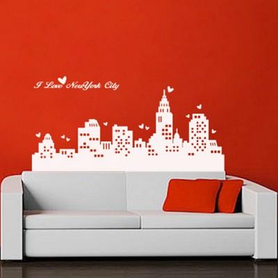 빠띠라인 디자인 스티커 a126_사랑이 있는 뉴욕시티