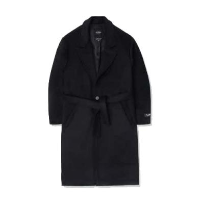 heavy wool single coat_bk 블랙코트 남성코트 코트