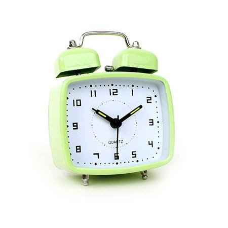 미니 프레임 알람 시계 - 그린