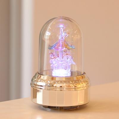LED취침등오르골 - 칼라회전목마 (오르골)