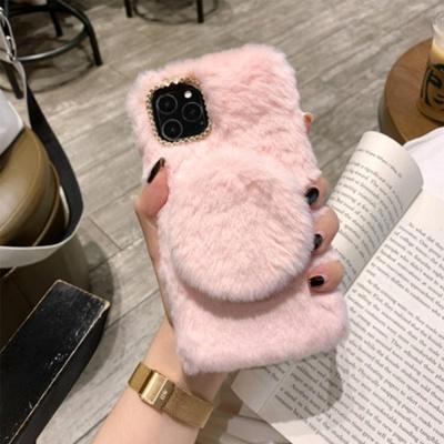 갤럭시S10 S10플러스 마그네틱 미러 털 핸드폰 케이스