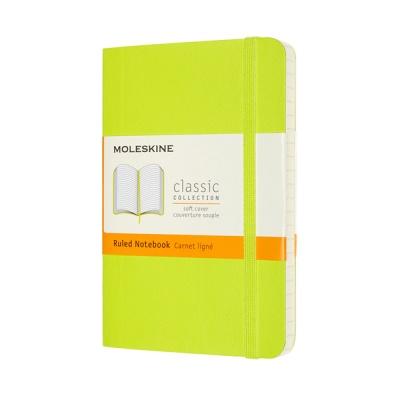 몰스킨 클래식노트-룰드/레몬 그린-소프트 P