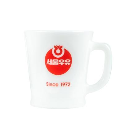 [본사정품] 서울우유 레트로 빈티지컵 1972 1P