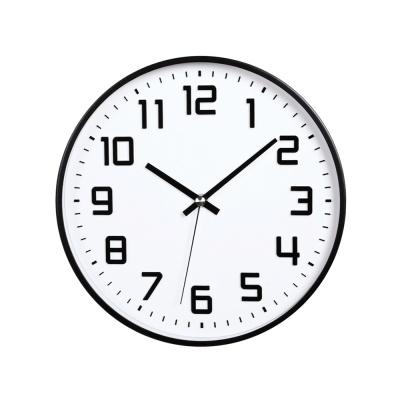 [시우아트] 메탈프레임 무소음 벽시계-미디엄