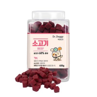 Dr.Doggy 소고기 400g 살코기 60프로 (pb)