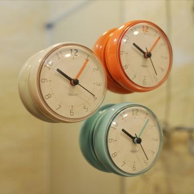 [무아스] 마카롱 방수 욕실시계