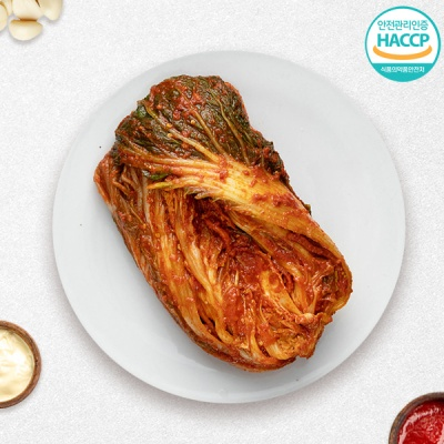 [국제요리대회최우수상] 국내산 전라도 포기김치 2kg