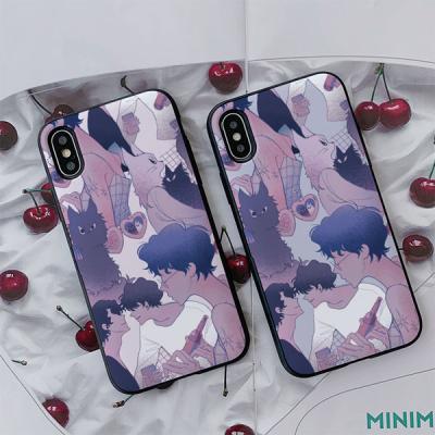 아이폰8 지존유라123 고양이털 카드케이스