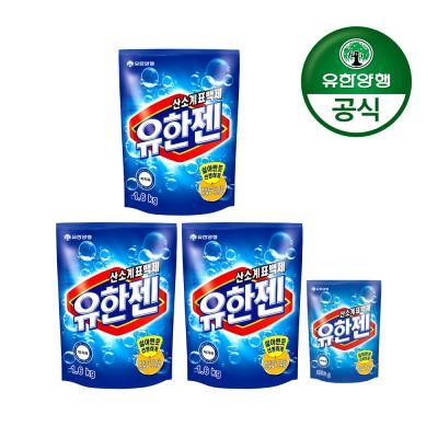 [유한양행]유한젠 표백제 1.6kg x 3개+200g