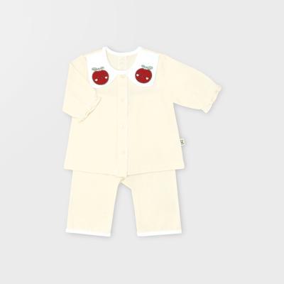 [메르베] 사과해 7부 아기내복/내의/유아실내복