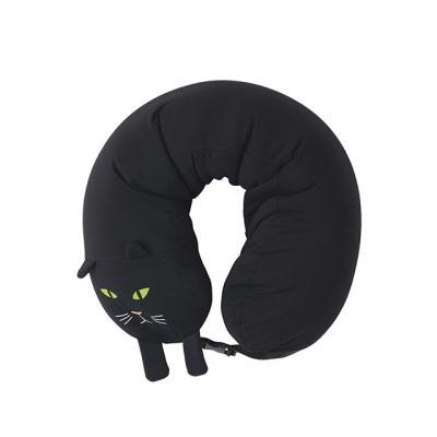 [도이] 여행용 목베개 기내용 목쿠션 고양이