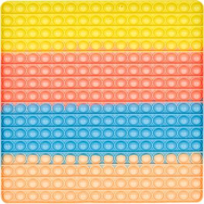파스텔 푸쉬 팝 버블 - 초대형 30 사각