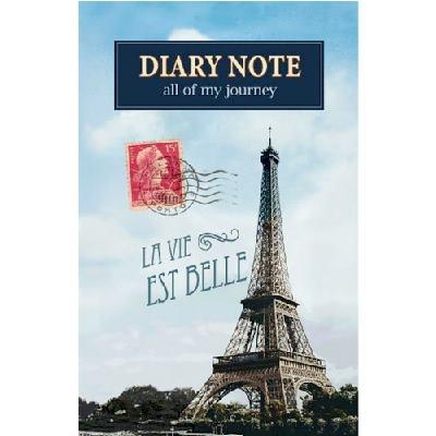 [Maki Design Studio] 다이어리노트-Paris Eiffel