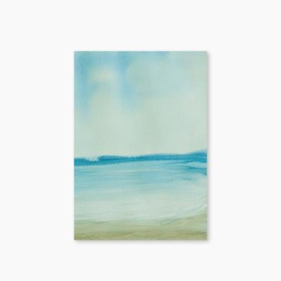 [Nature Watercolor Series] Type B - Sea 유선노트