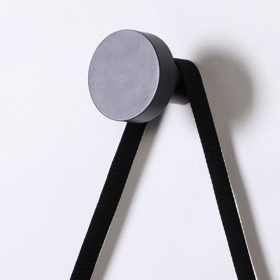 스칸-우드 스트링 벽거울 300-블랙