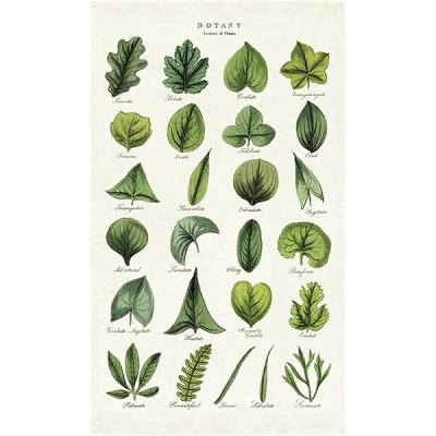 카발리니 빈티지 패브릭벽걸이 - Botany Leaves