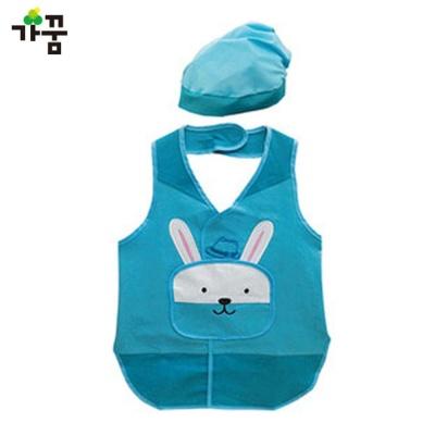 토끼 앞치마 (블루) (NO.741)