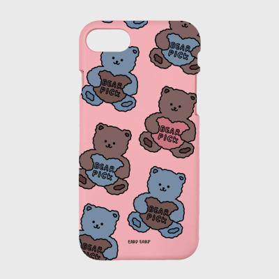 Bear pick-pink(color jelly)