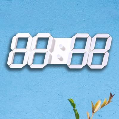 카파 D5370W 3D 화이트LED 대형 디지털벽시계