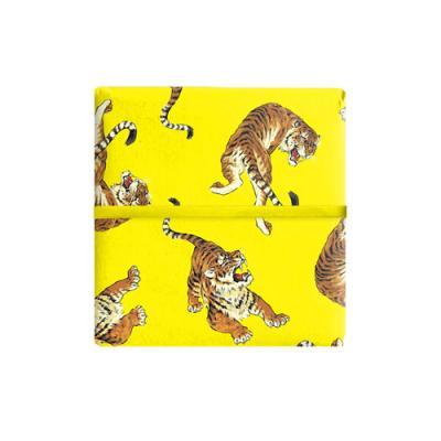 명품 호랑이 포장지 (2장)