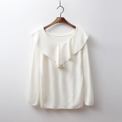 Angel Frill V-Neck Knit