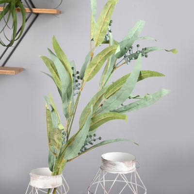 고속터미널꽃시장 난초잎 오키드 조화 90cm