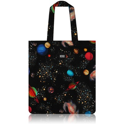 nother Space Planets Flat Tote / 나더 스페이스 플래닛 플랫 토트백