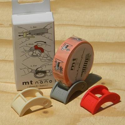 폭15mm용 3개 Set-일본 mt 디자인 마스킹테이프 Cutter-Nano No.16