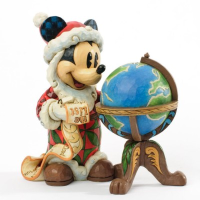 세계를 둘러보는 산타 미키마우스 (4033271)