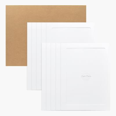 A3 / 12x17 포토프레임 스토리지 박스세트  - 화이트 10매