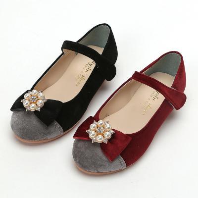 마미 진주리본구두 160-210 유아 아동 여아 구두 신발
