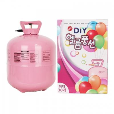 DIY 일회용 헬륨가스 30개용 Portable helium gas