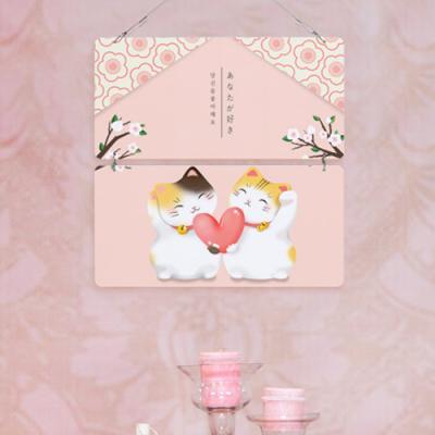 nk901-멀티아크릴액자_일본고양이의사랑고백(2단)
