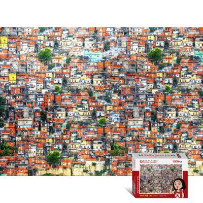 1000피스 퍼즐 파벨라의 그림같은 마을 PG1003