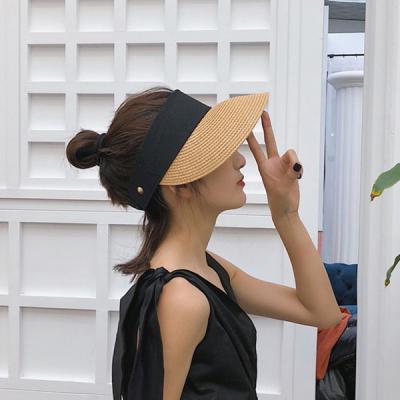 템버린 여름 햇빛차단 밀짚 썬캡