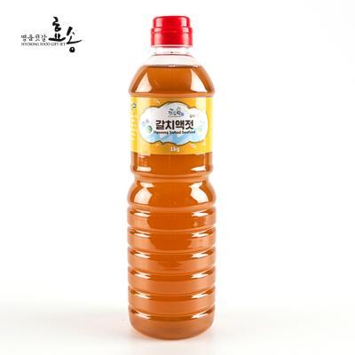 군산 효송 젓가락 갈치액젓 1kg