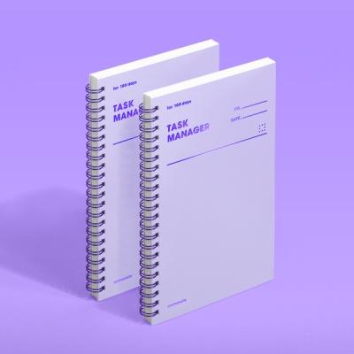 [모트모트] 태스크 매니저 100DAYS - 바이올렛 (2EA)