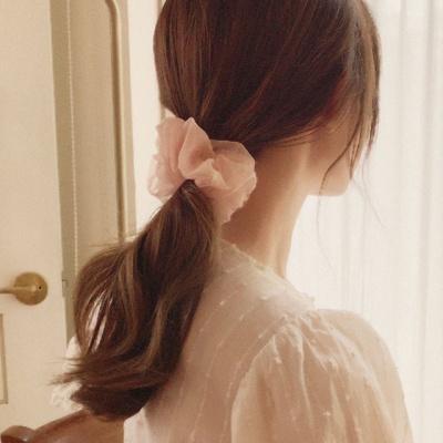 오간디 곱창 머리끈